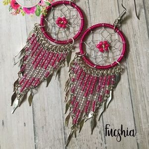 Dream catcher Earrings + Necklaces ideas for gift